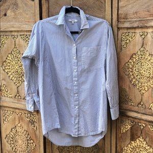 Madewell Classic Ex-BF Shirt, XS